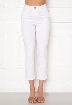 Happy Holly Peggy straight leg jeans White Bubbleroom.eu