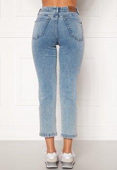 Happy Holly Peggy straight leg jeans Light denim Bubbleroom.eu