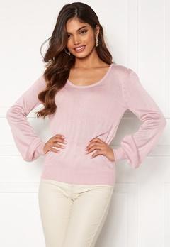 Happy Holly Pembe sweater Dusty pink Bubbleroom.eu