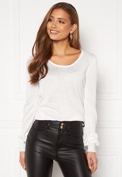 Happy Holly Pembe sweater White Bubbleroom.eu