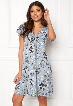 Happy Holly Reanna dress Medium blue / Patterned Bubbleroom.eu