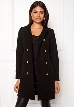Happy Holly Rebecca coat Black Bubbleroom.eu