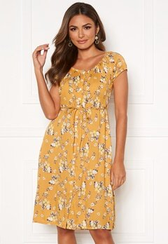 Happy Holly Rebecca dress Yellow / Patterned Bubbleroom.eu