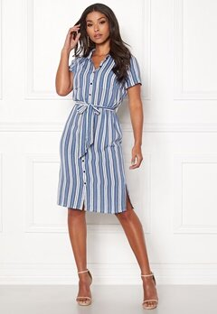 Happy Holly Ronja shirt dress Striped Bubbleroom.eu