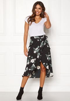 Happy Holly Sandie skirt Black / Patterned Bubbleroom.eu