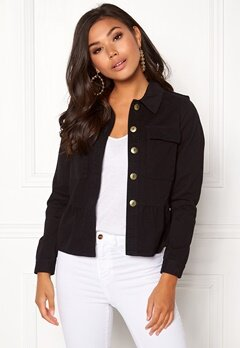 Happy Holly Sanne jacket Black Bubbleroom.eu