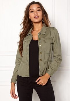 Happy Holly Sanne jacket Khaki green Bubbleroom.eu