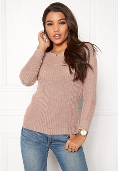 Happy Holly Sara sweater Dusty pink Bubbleroom.eu