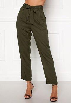Happy Holly Sarah utility pants Khaki green Bubbleroom.eu