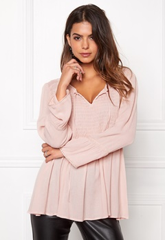 Happy Holly Sasha blouse Dusty pink Bubbleroom.eu