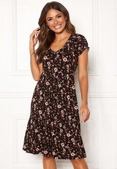 Happy Holly Scarlett dress Black / Patterned Bubbleroom.eu