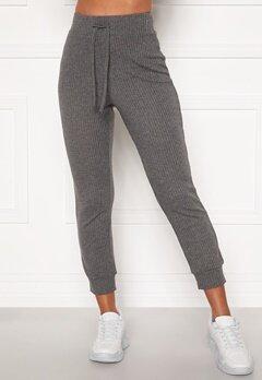 Happy Holly Selena cosy pants Grey melange Bubbleroom.eu