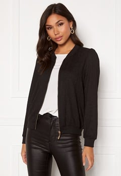 Happy Holly Simone puff jacket Black Bubbleroom.eu