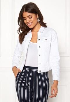 Happy Holly Skyler denim jacket White Bubbleroom.eu