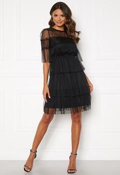 Happy Holly Smilla mesh dress Black Bubbleroom.eu