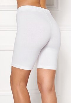 Happy Holly Sofia short leggings White Bubbleroom.eu