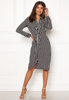 Happy Holly Sophia shirt dress Striped Bubbleroom.eu