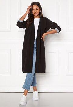 Happy Holly Stefanie tricot coat Black Bubbleroom.eu