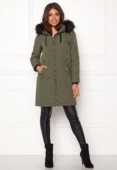 Happy Holly Stephanie Jacket Khaki green Bubbleroom.eu