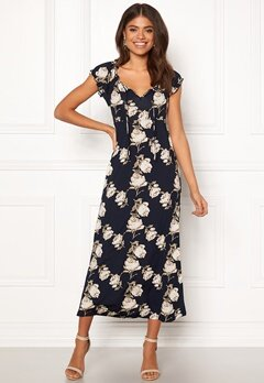 Happy Holly Tessie maxi dress Dark blue Bubbleroom.eu