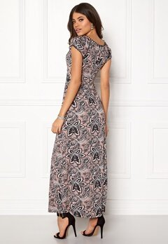 Happy Holly Tessie maxi dress Pink / Patterned Bubbleroom.eu