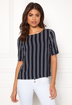 Happy Holly Thea woven top Striped Bubbleroom.eu