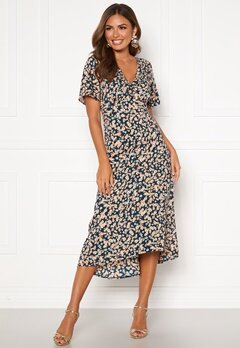Happy Holly Therese occasion dress Blue / Patterned Bubbleroom.eu