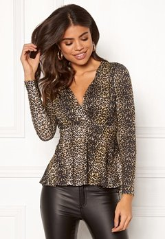 Happy Holly Therese top Leopard Bubbleroom.eu