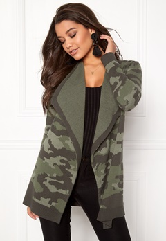 Happy Holly Tove cardigan Camouflage Bubbleroom.eu