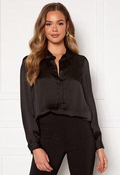 Happy Holly Trinity shirt blouse Black Bubbleroom.eu