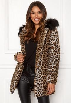 Happy Holly Trinny coat Leopard Bubbleroom.eu