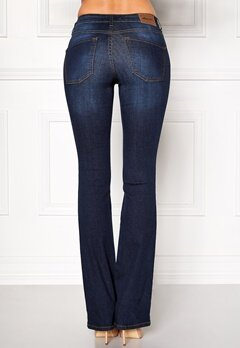 Happy Holly Uma bootcut jeans Dark denim Bubbleroom.eu