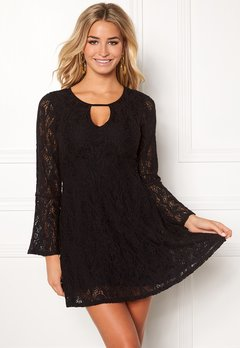 Happy Holly Vanessa lace dress Black Bubbleroom.eu