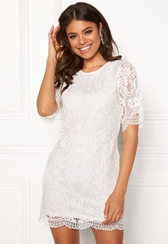 Happy Holly Vickan lace dress White Bubbleroom.eu