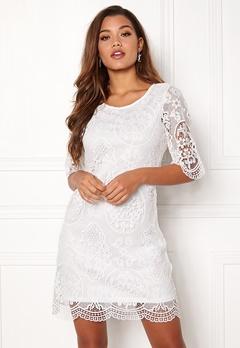 Happy Holly Vicky lace dress White Bubbleroom.eu