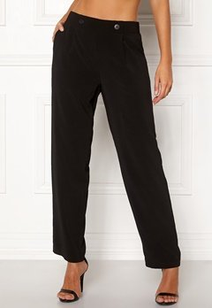 Happy Holly Vivanne wide pants Black Bubbleroom.eu