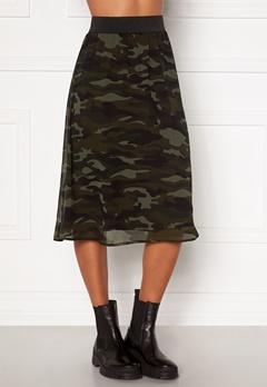 Happy Holly Zoey asymmetric skirt  Camouflage Bubbleroom.eu