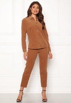 Happy Holly Maja cord pants Light brown Bubbleroom.eu