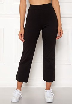 Happy Holly Maisie tricot pants Black Bubbleroom.eu
