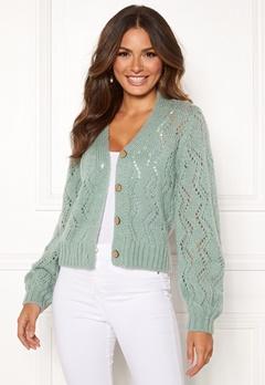 Happy Holly Angelina lace cardigan Mint green Bubbleroom.eu