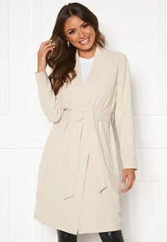 Happy Holly My coat  Light beige Bubbleroom.eu