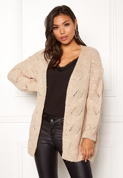 ONLY Havana L/S Long Cardigan Pumice Stone Bubbleroom.eu