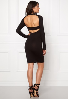 Club L High Neck Open Back Black Bubbleroom.eu