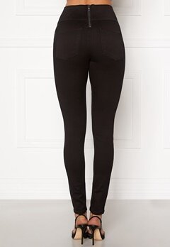 Pieces Highwaist Soft Jeggings Black Bubbleroom.eu