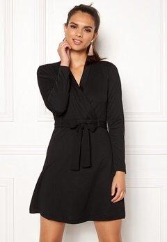 Jacqueline de Yong Honey L/S Dress Black Bubbleroom.eu