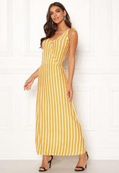 ICHI Clayton Dress 17018 Old Gold Bubbleroom.eu