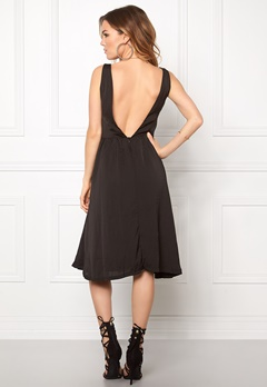 ICHI Collir Dress Black Bubbleroom.eu
