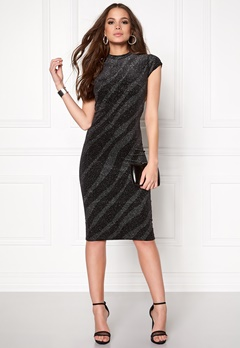 ICHI Jerano dress 10001 Black Bubbleroom.eu