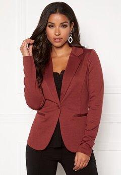 ICHI Kate Suit Jacket Russet Brown Bubbleroom.eu