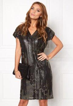 ICHI Limana dress 10001 Black Bubbleroom.eu